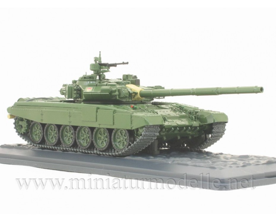 1:43 T-90 Russian main battle tank military with magazine #16