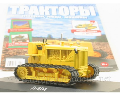 1:43 D-804 pipelayer tractor with magazine #114