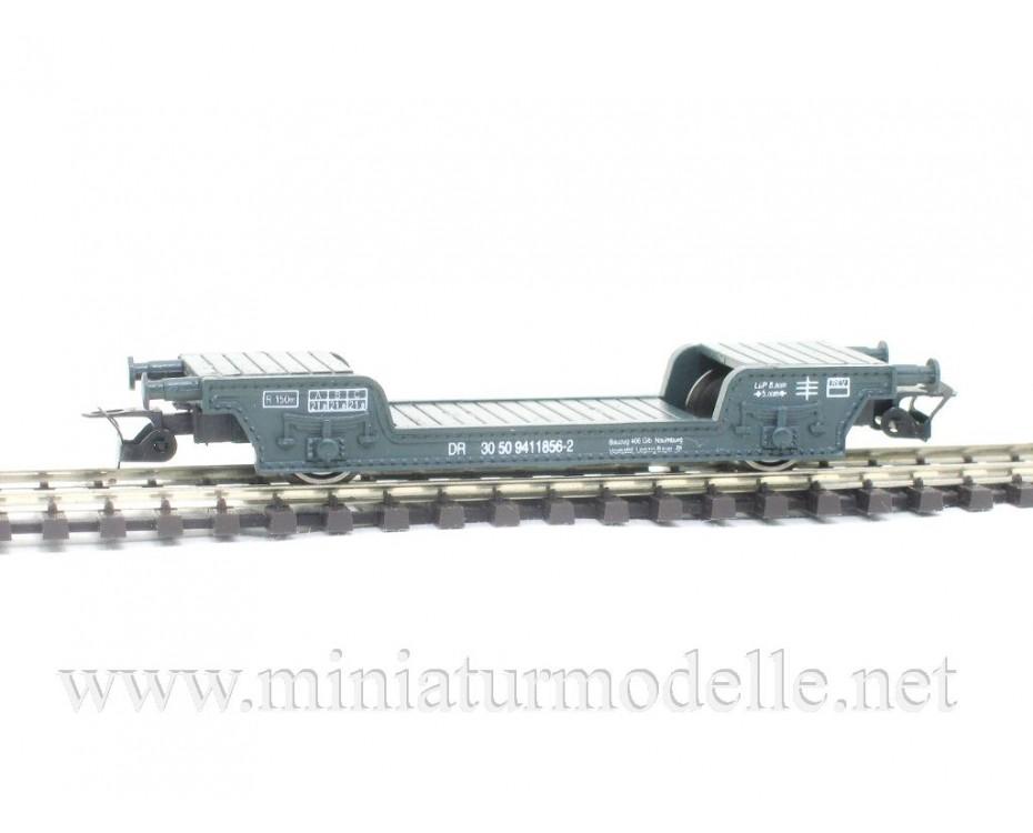 1:120 TT 3313 Low-loader wagon of the DR type St. geen era 4, 3313, Peresvet by www.miniaturmodelle.net