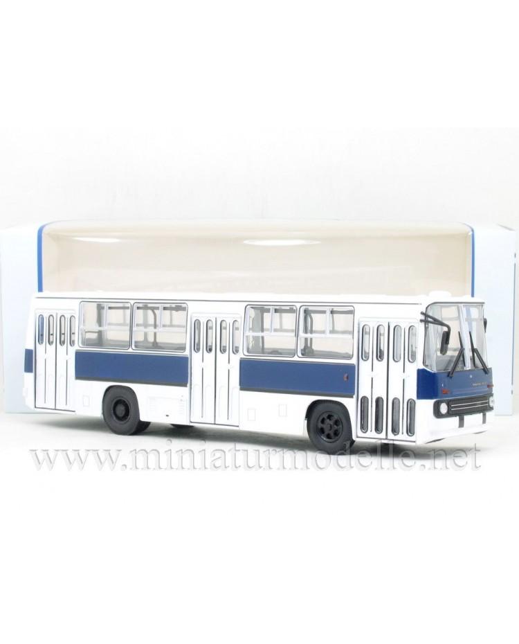 1:43 IKARUS-260 bus white-navy blue