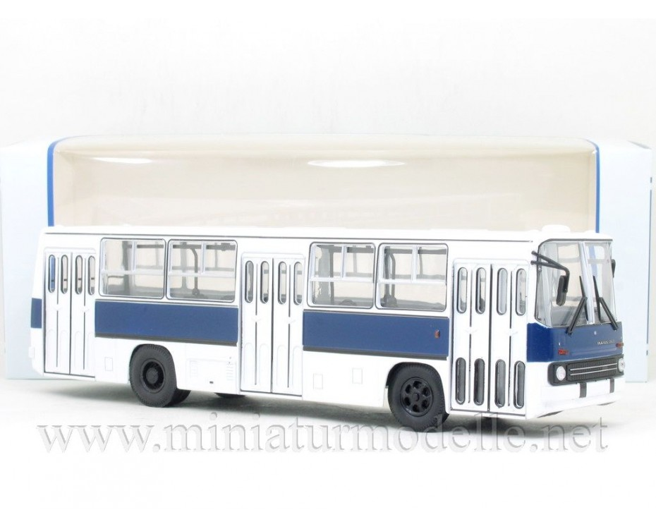 1:43 IKARUS 260 bus white-navy blue