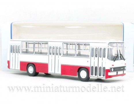 1:43 IKARUS 260 bus white - red