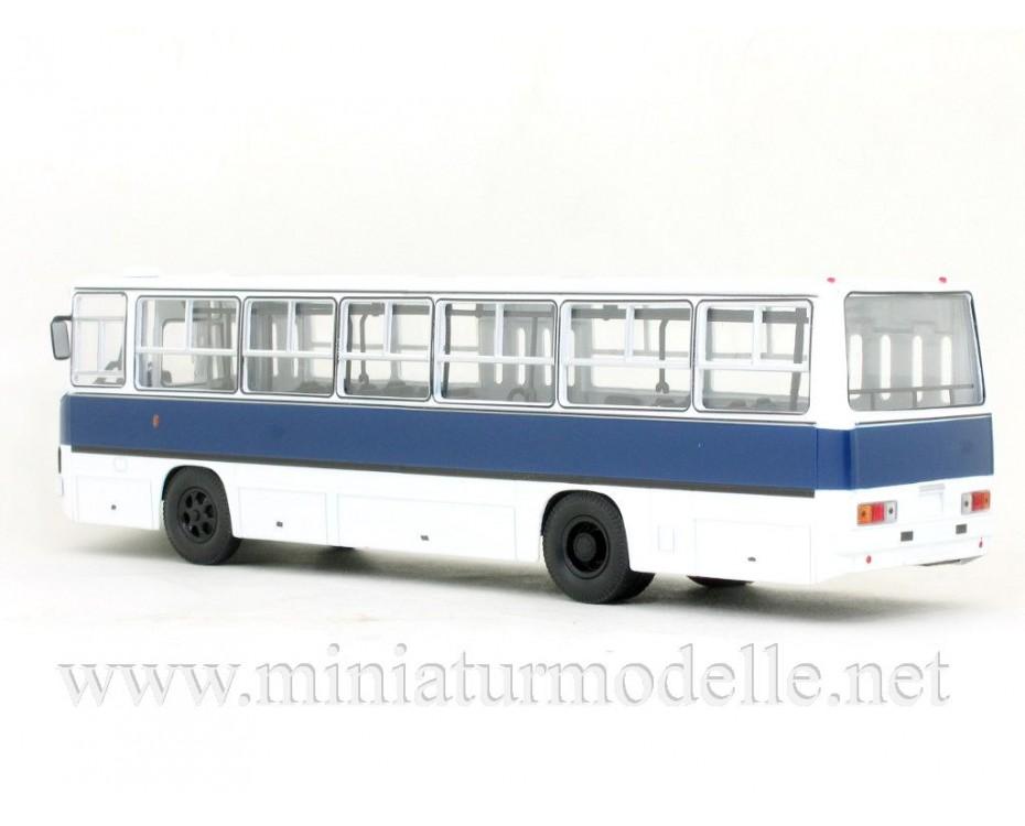 1:43 IKARUS 260 bus white-navy blue