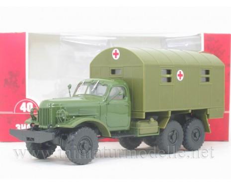 1:43 ZIL 157 field hospital box 1M, military