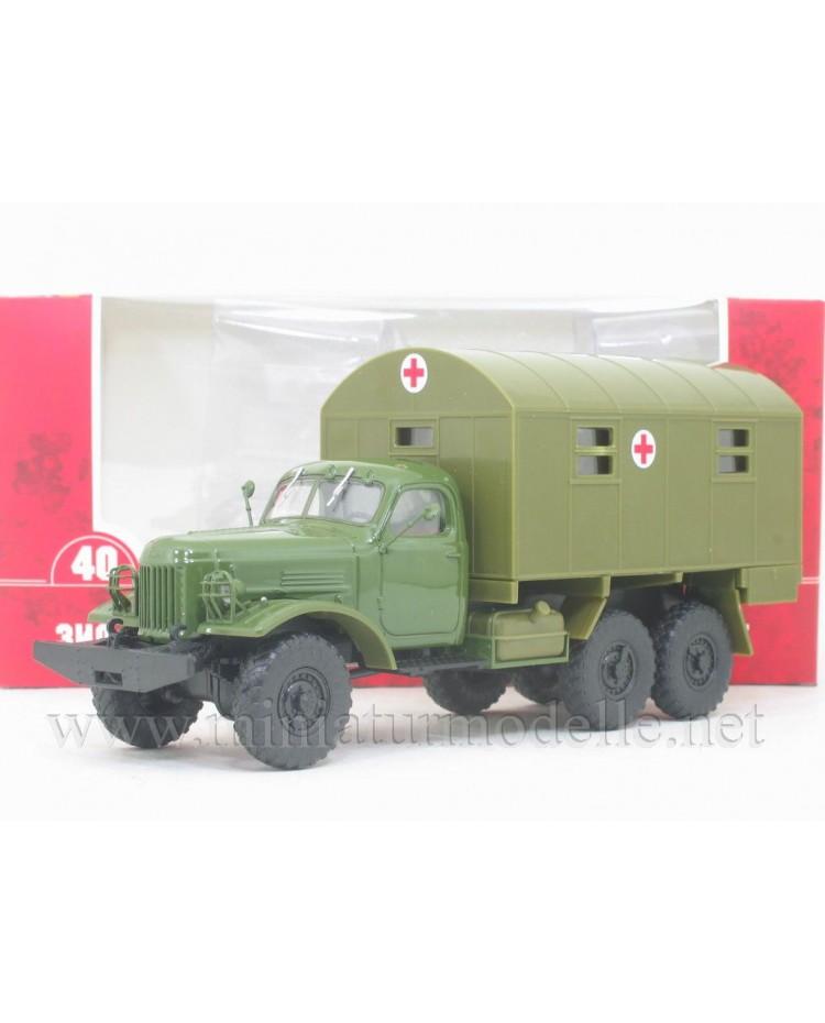 1:43 ZIL-157 field hospital box 1M, military