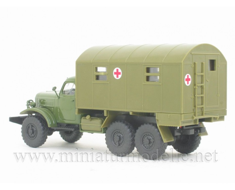 1:43 ZIL-157 field hospital box 1M, military