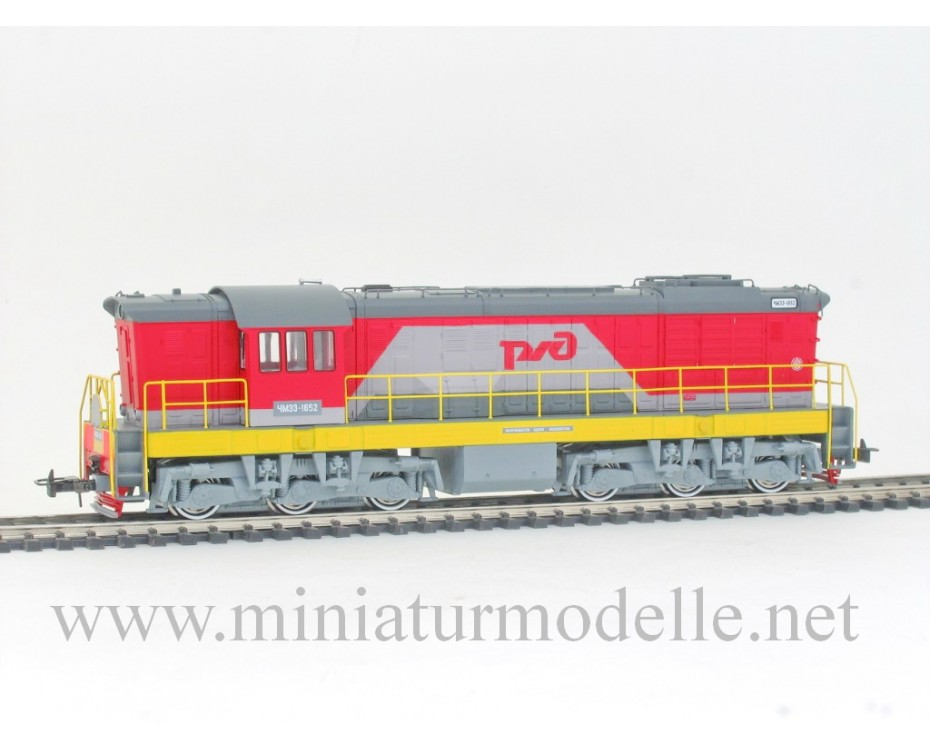 1:87 H0 3003 ChME 3 class diesel locomotive of the RZD, era 5