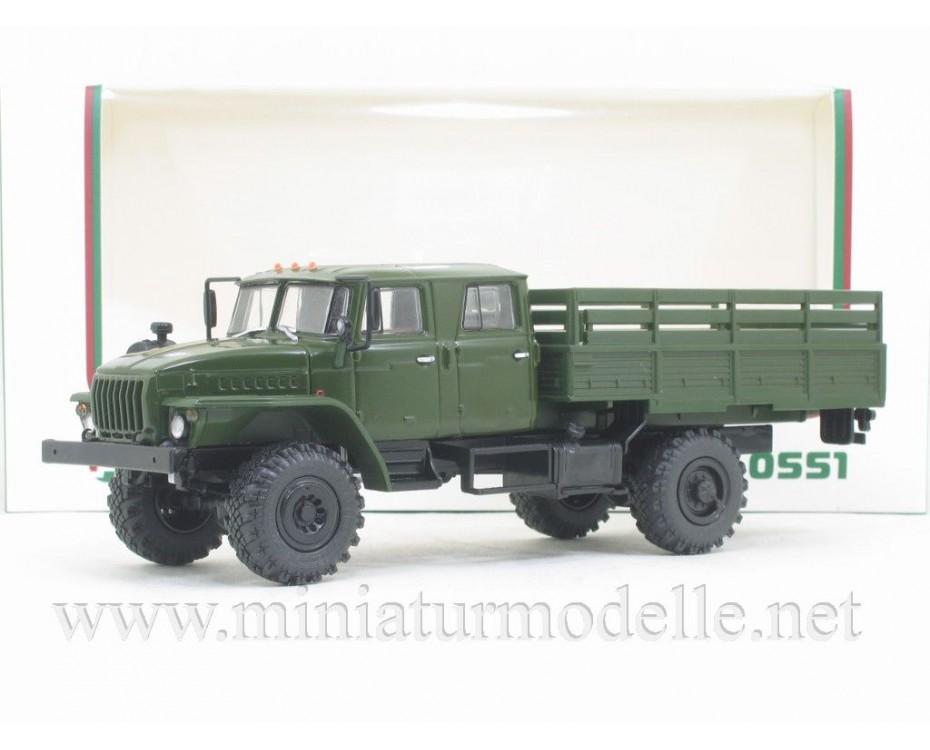 1:43 URAL-43206-0551 Load platform, military