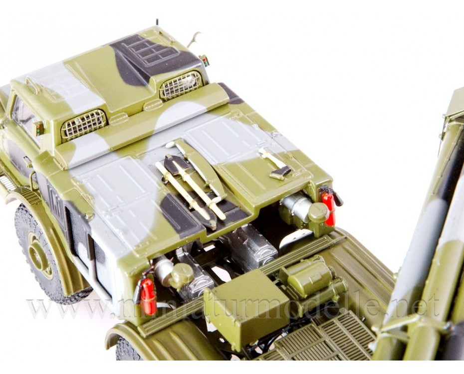 1:43 ZIL-135 LM BM-27 9P140 Uragan self-propelled multiple rocket launcher system, military
