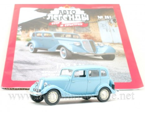 1:43 GAZ-M1 with magazine #261