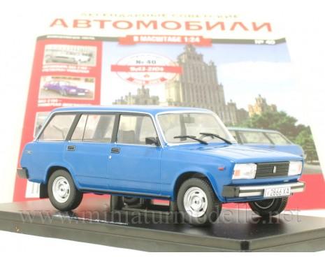 1:24 VAZ-2104 LADA with magazine #40