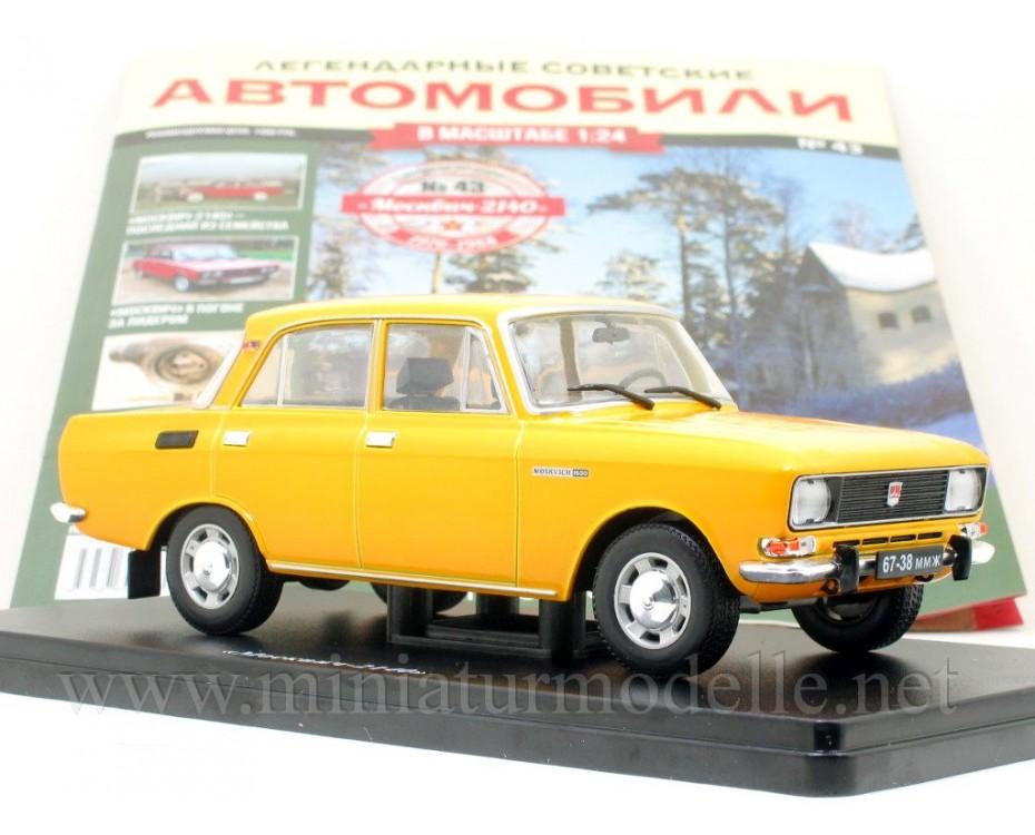 1:24 Moskvitch-2140 with magazine #43