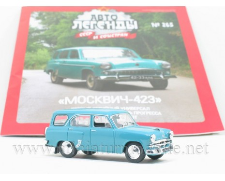 1:43 Moskvitch-423 with magazine #265