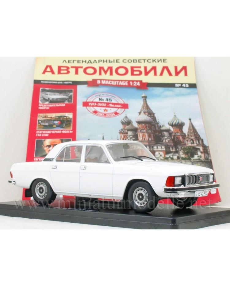 1:24 GAZ 3102 Volga with magazine #45
