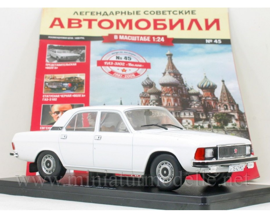 1:24 GAZ 3102 Volga with magazine #45