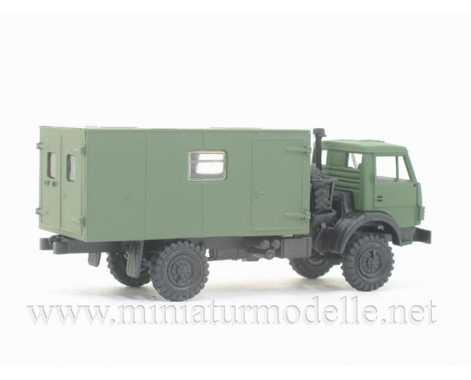 H0 1:87 KAMAZ 4326 maintenance workshop typ1, military