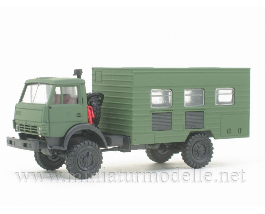 H0 1:87 KAMAZ 4326 maintenance workshop typ2, military