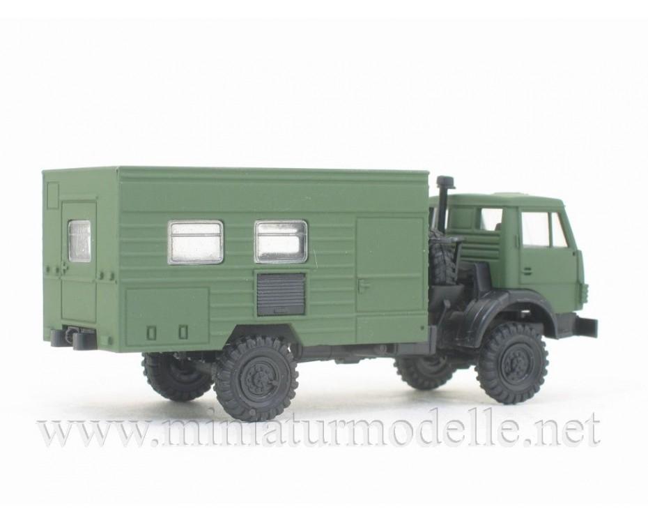 H0 1:87 KAMAZ 4326 maintenance workshop typ2, military