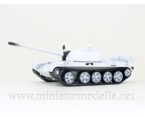 H0 1:87 T-55 Main battle tank winter Siberia 1960-1965, military