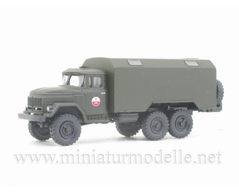 H0 1:87 ZIL 131 Box CA, military
