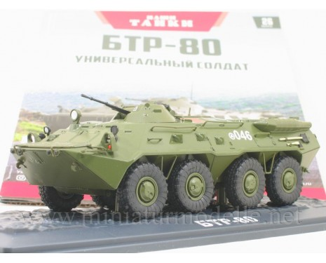 1:43 BTR 80 amphibious armoured personnel carrier with magazine #26