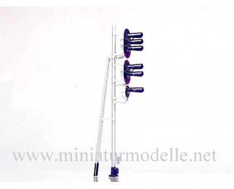 1:87 H0 6 Licht-Einfahrsignal (Typ 3+2+1)
