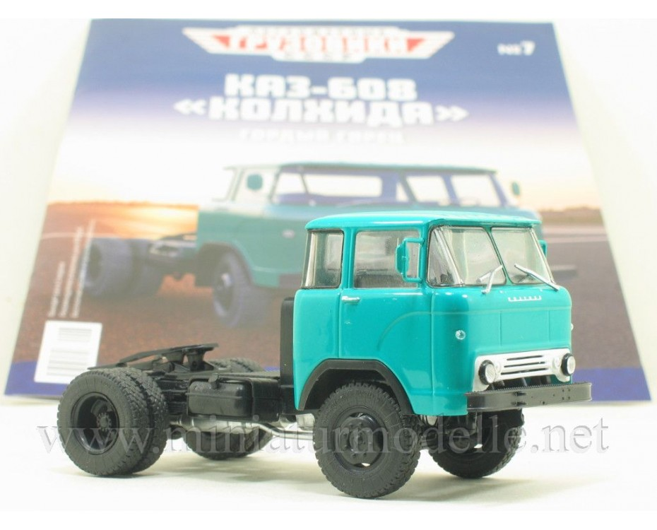1:43 KAZ 608 tractor unit with magazine #7