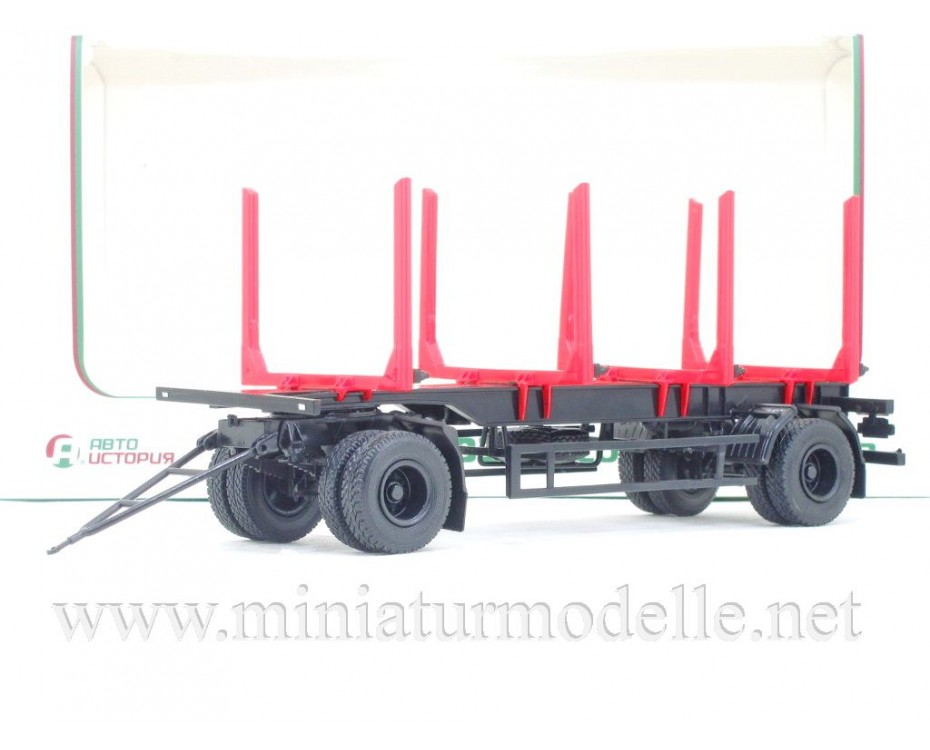1:43 MAZ 83781 Logging trailer