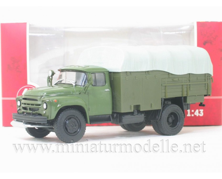 1:43 ZIL 130 Aircraft fuel pump truck PSG-160, military
