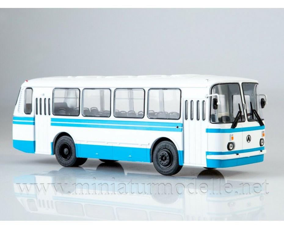 1:43 LAZ 695 N bus with magazine #1