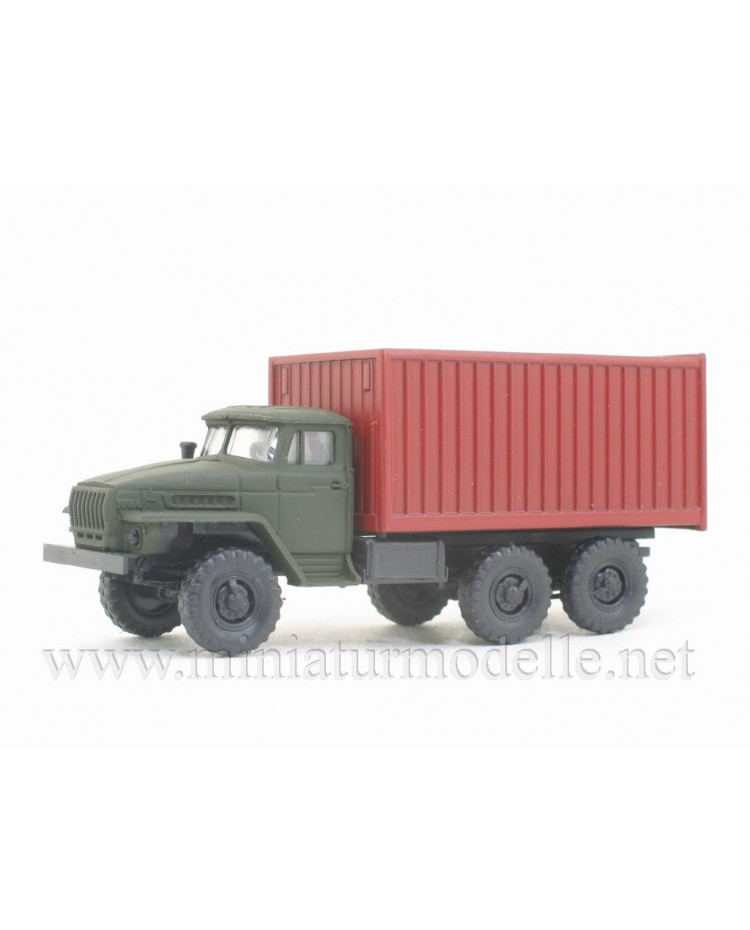 H0 1:87 URAL 4320 container, military