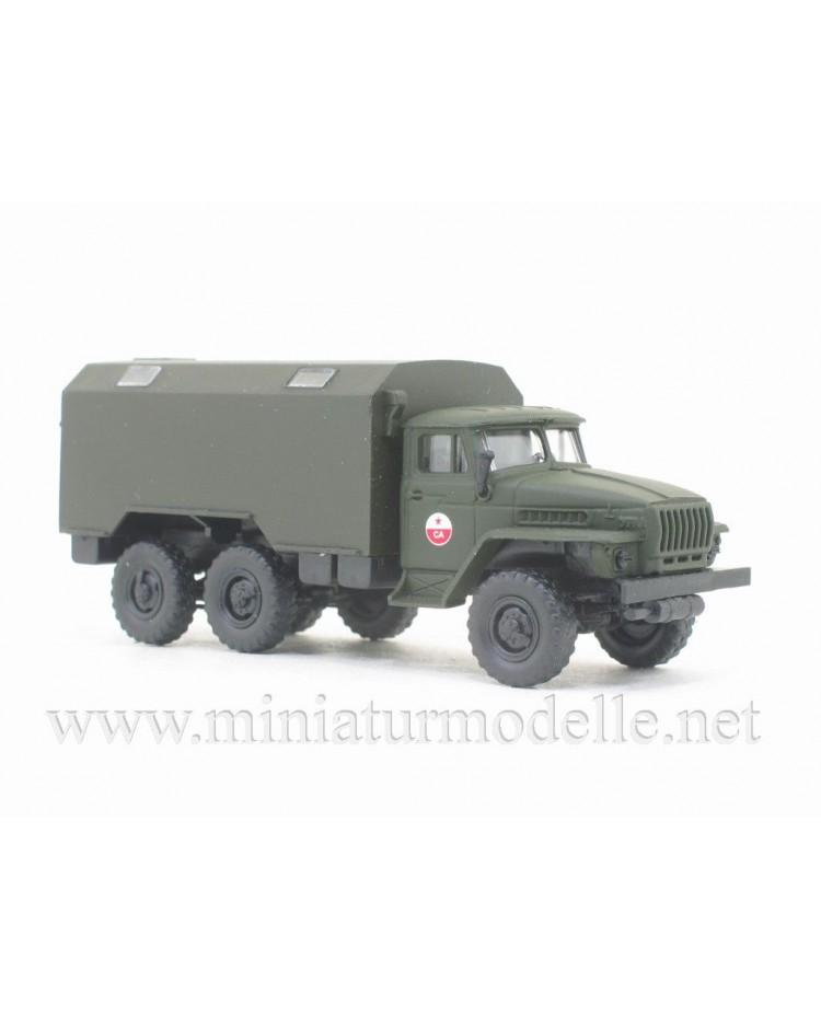 H0 1:87 URAL 4320 box, CA military