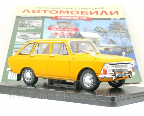 1:24 Moskvitch IZh 2125 Kombi with magazine #50