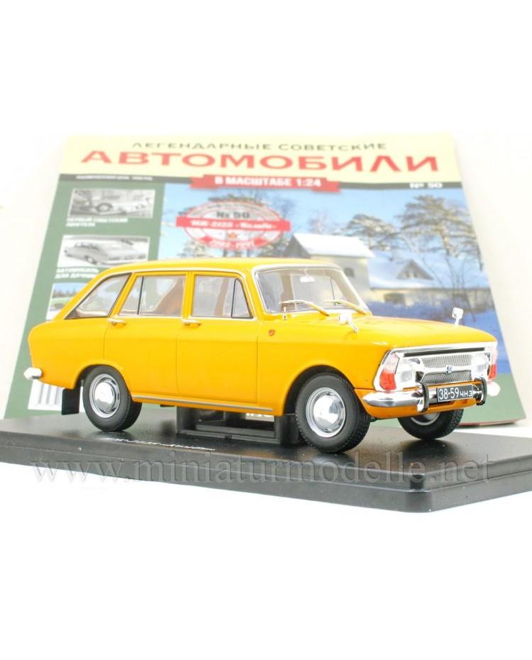 1:24 Moskvitch IZh 2125 Kombi with magazine #50