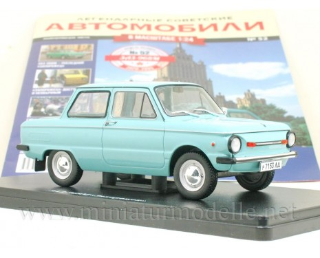 1:24 ZAZ 968 M Zaporozhets with magazine #52