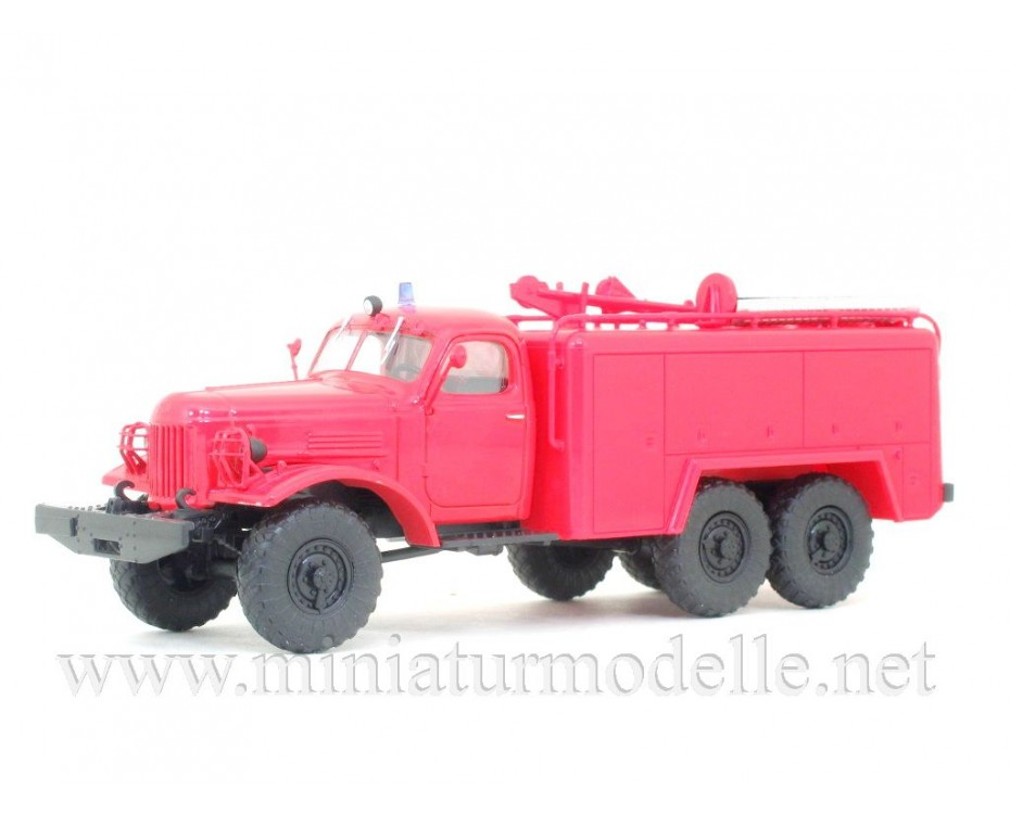 1:43 ZIL 157 K AT-2 fire mobile maintenance truck with magazine #9,  Modimio Collections by www.miniaturmodelle.net