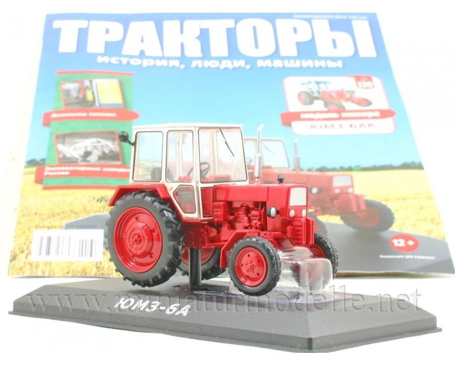 1:43 JuMZ 6 AK tractor with magazine #130,  Hachette by www.miniaturmodelle.net