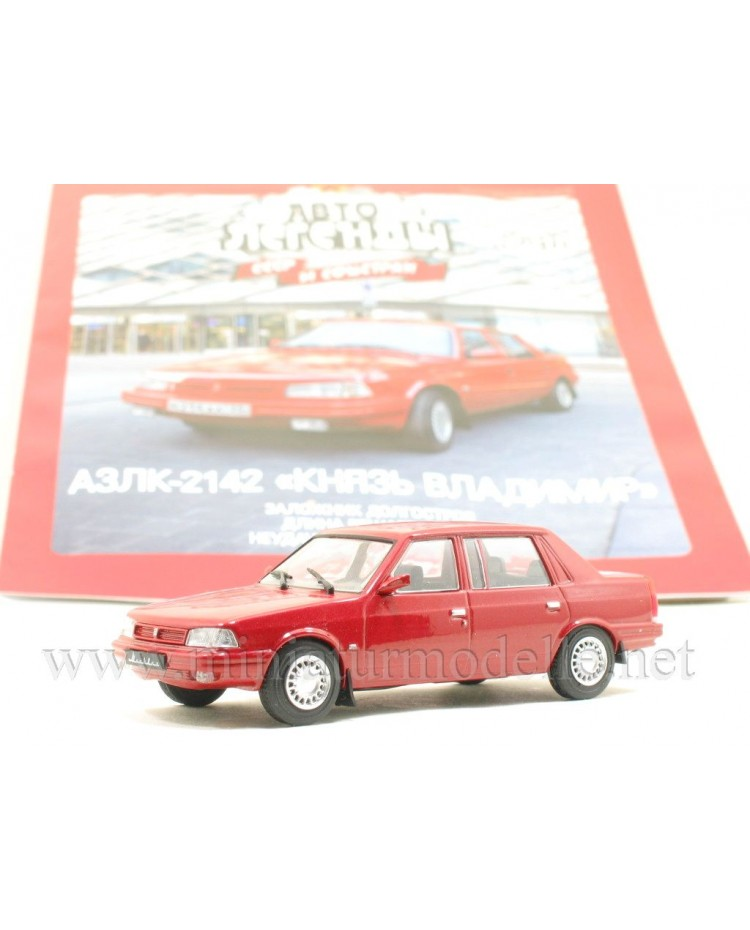 1:43 Moskvitch 2142 AZLK Knjaz Vladimir with magazine #271