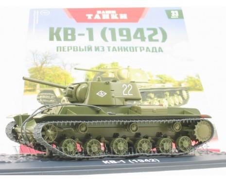 1:43 KV 1 (1942) heavy tank with magazine #33