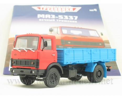 1:43 MAZ 5337 load platform with magazine #4