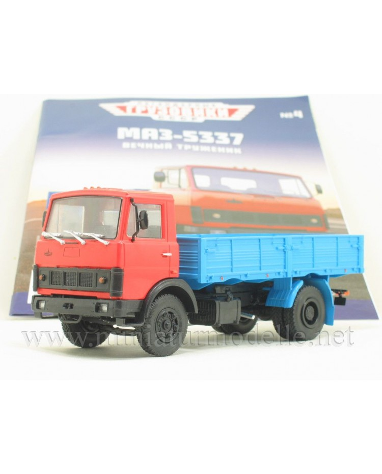 1:43 MAZ 5337 load platform with magazine #4