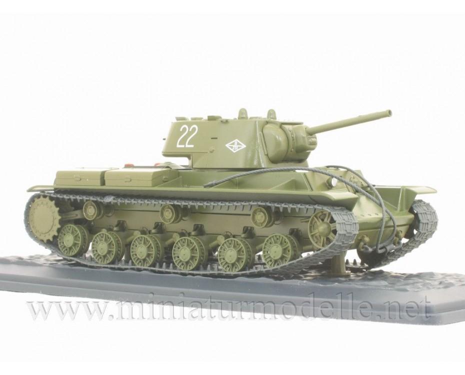 1:43 KV 1 (1942) heavy tank with magazine #33,  Modimio Collections by www.miniaturmodelle.net