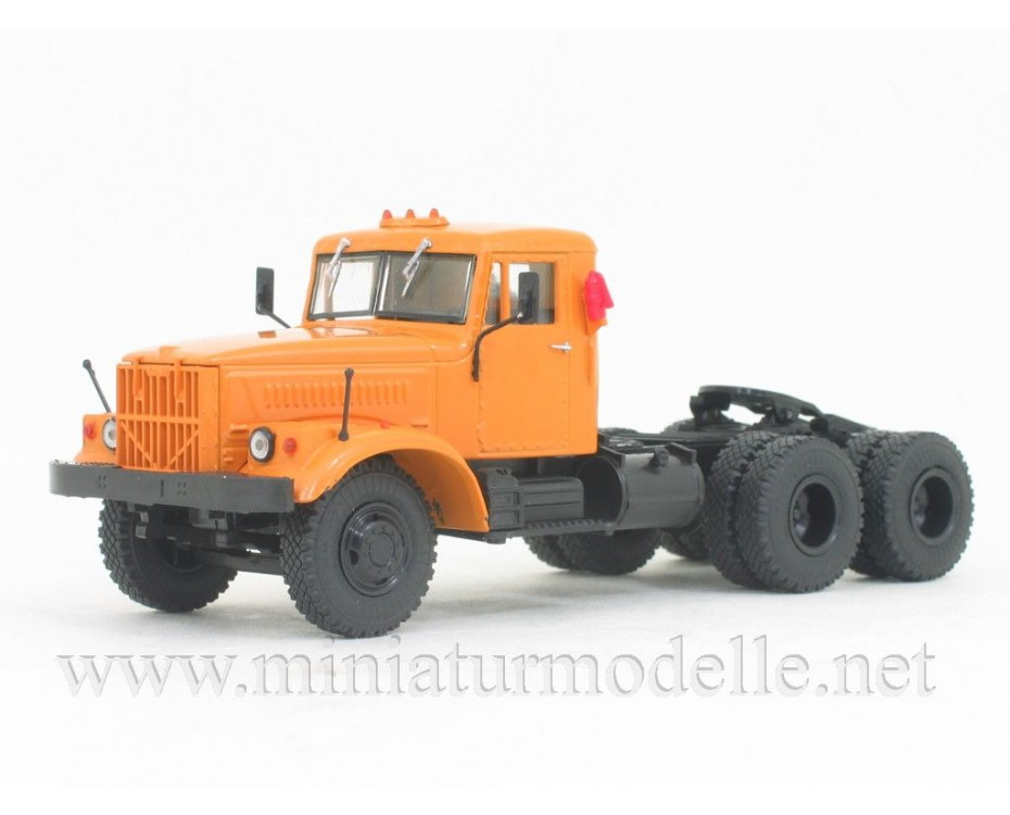 1:43 KRAZ 258 B1 tractor unit civil, TR1012, Nashi Gruzoviki by www.miniaturmodelle.net