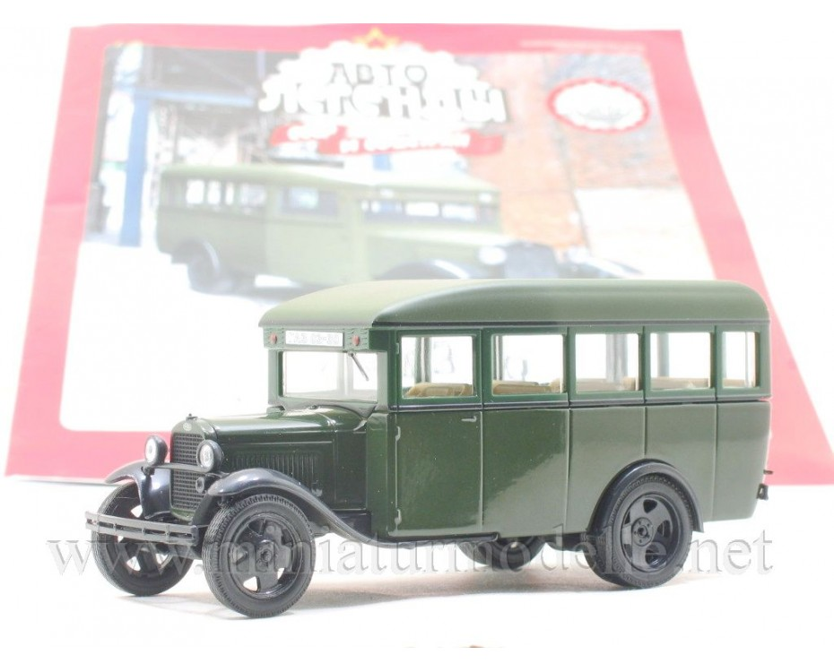 1:43 GAZ 03-30 bus military with magazine #273