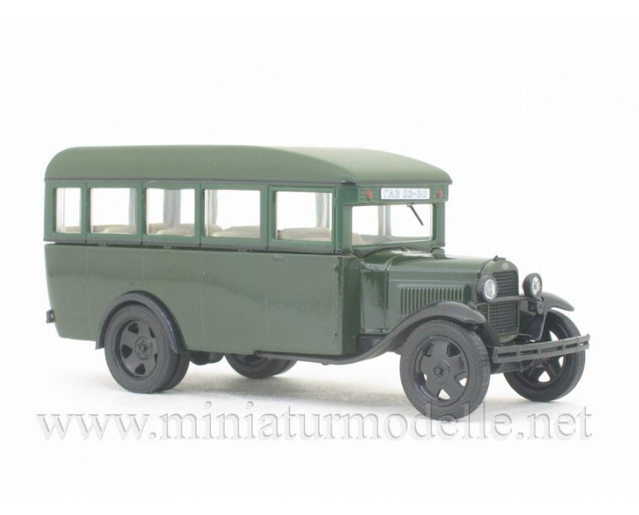1:43 GAZ 03-30 bus military with magazine #273,  De Agostini by www.miniaturmodelle.net