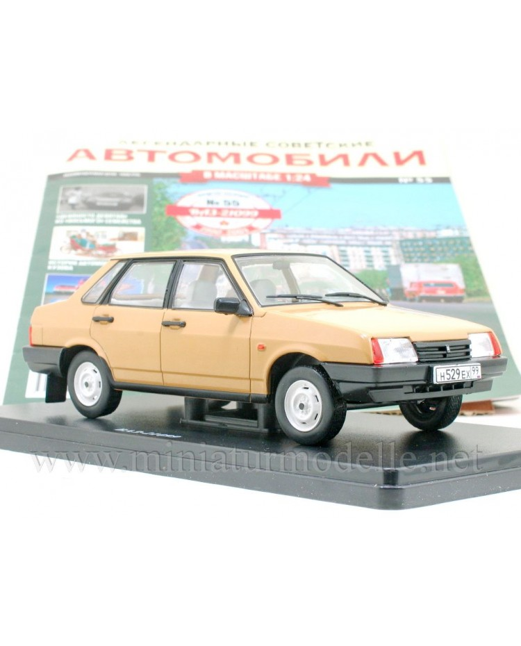 1:24 VAZ 21099 Lada Samara with magazine #55