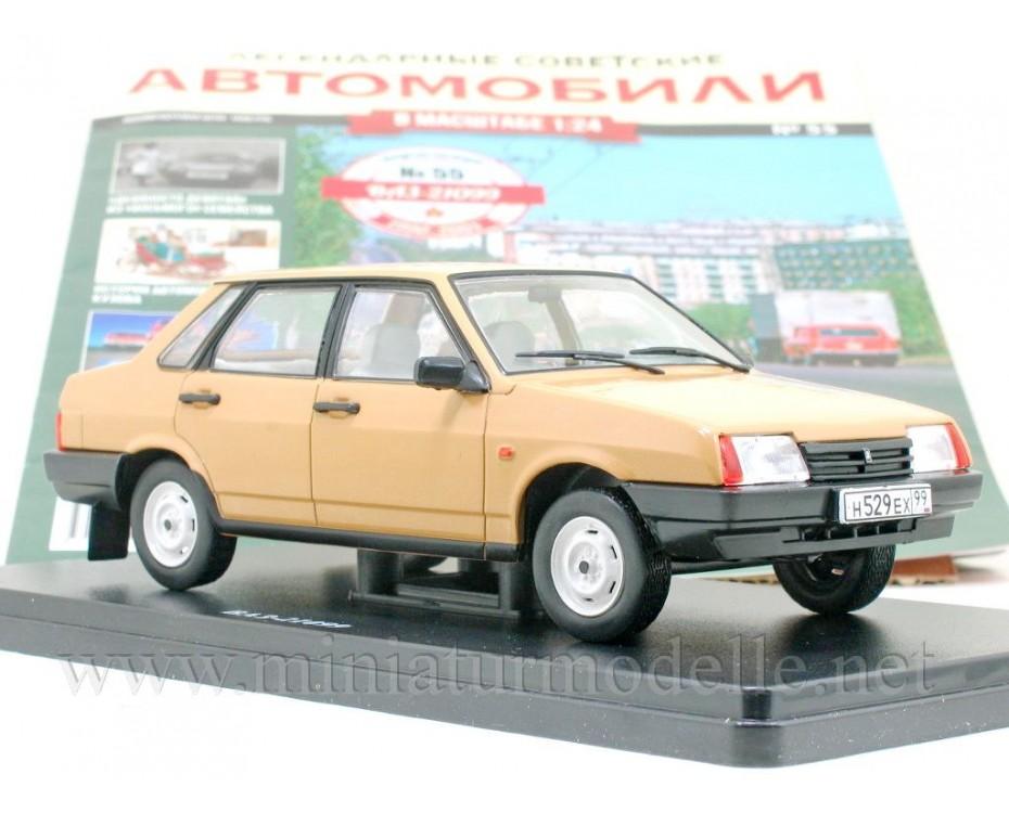 1:24 VAZ 21099 Lada Samara with magazine #55