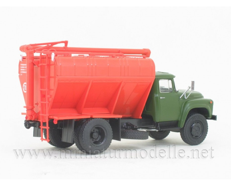 1:43 ZIL 130 Silo bulk truck ZSK-10 with magazine#15