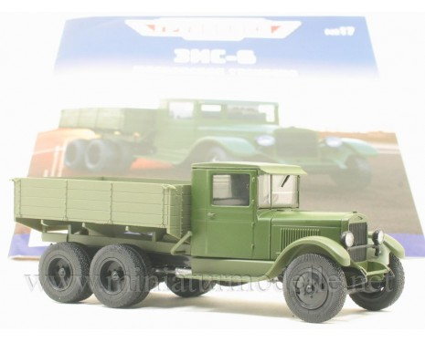 1:43 ZIS 6 load platform military with magazine #17