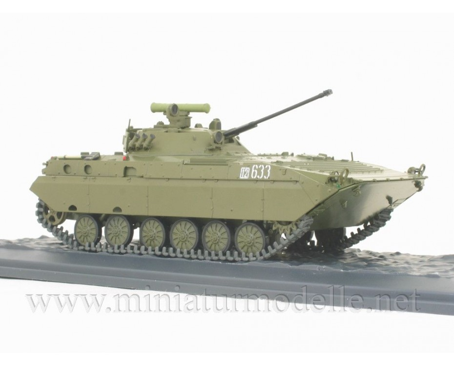 1:43 BMP 2 D Soviet amphibious tracked infantry fighting vehicle with magazine #37